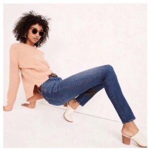 "NWOT Madewell 8"" Skinny Jeans"